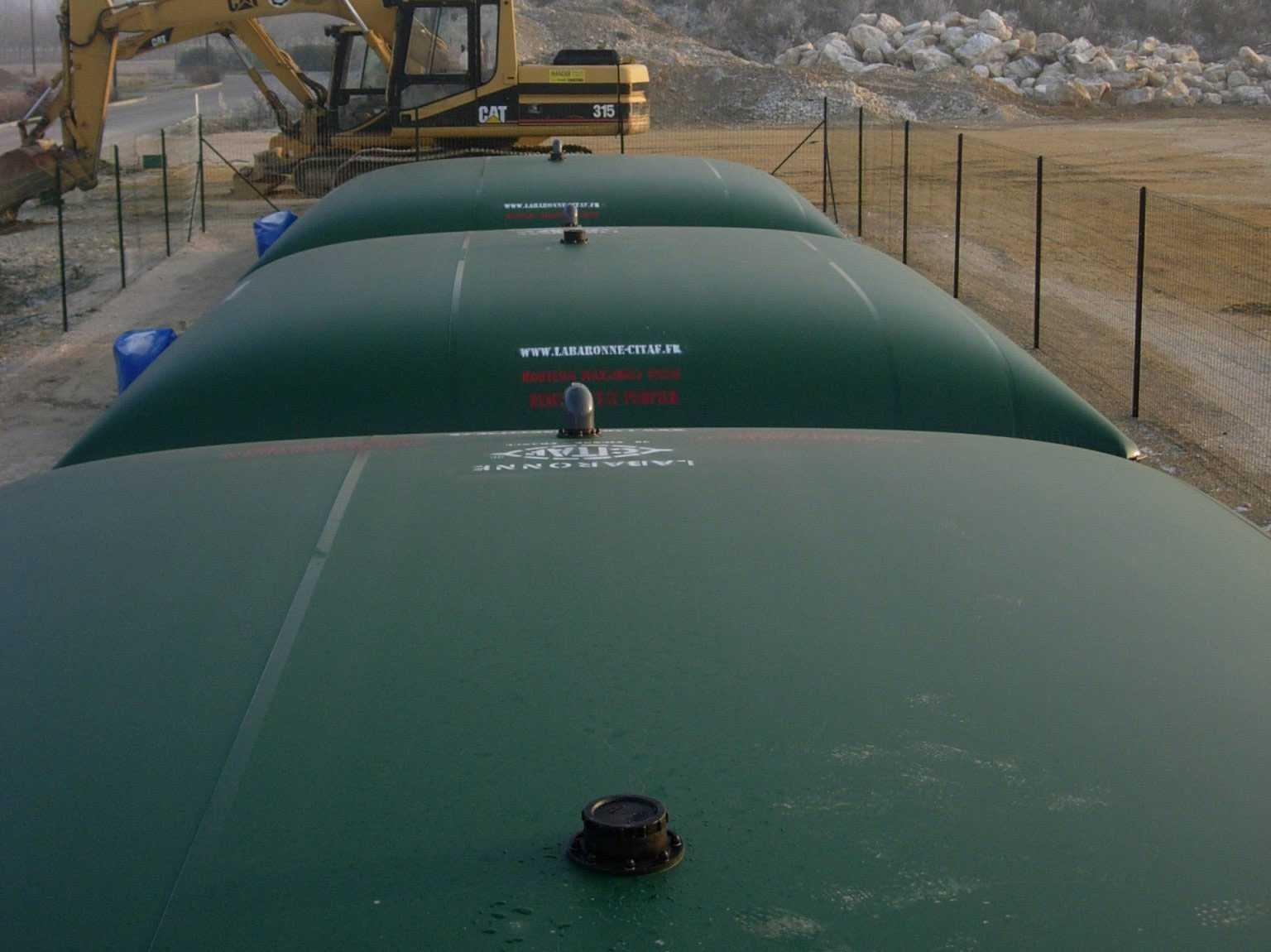Citernes souples esa volutions - Cuve stockage eau potable ...