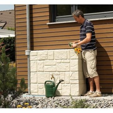 Réservoir Brick mural 300L Garantia avec robinet et collecteur