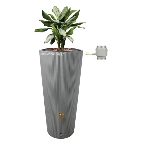 Réservoir LINUS 220L Garantia avec bac à plante et collecteur