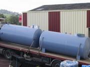 Duo de cuves en acier pour la récupération d'eau par ESA-Evolutions