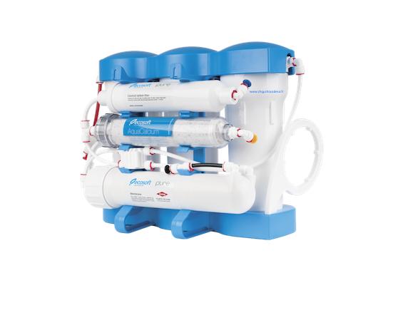 L'osmose inverse domestique Ecosoft P'URE AQUACALCIUM utilise la technologie de l'osmose inverse