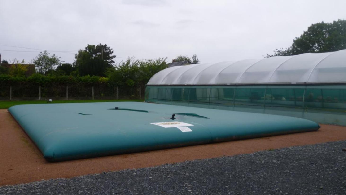 Citer souple pour la récupération d'eau de pluie par ESA-Evolutions
