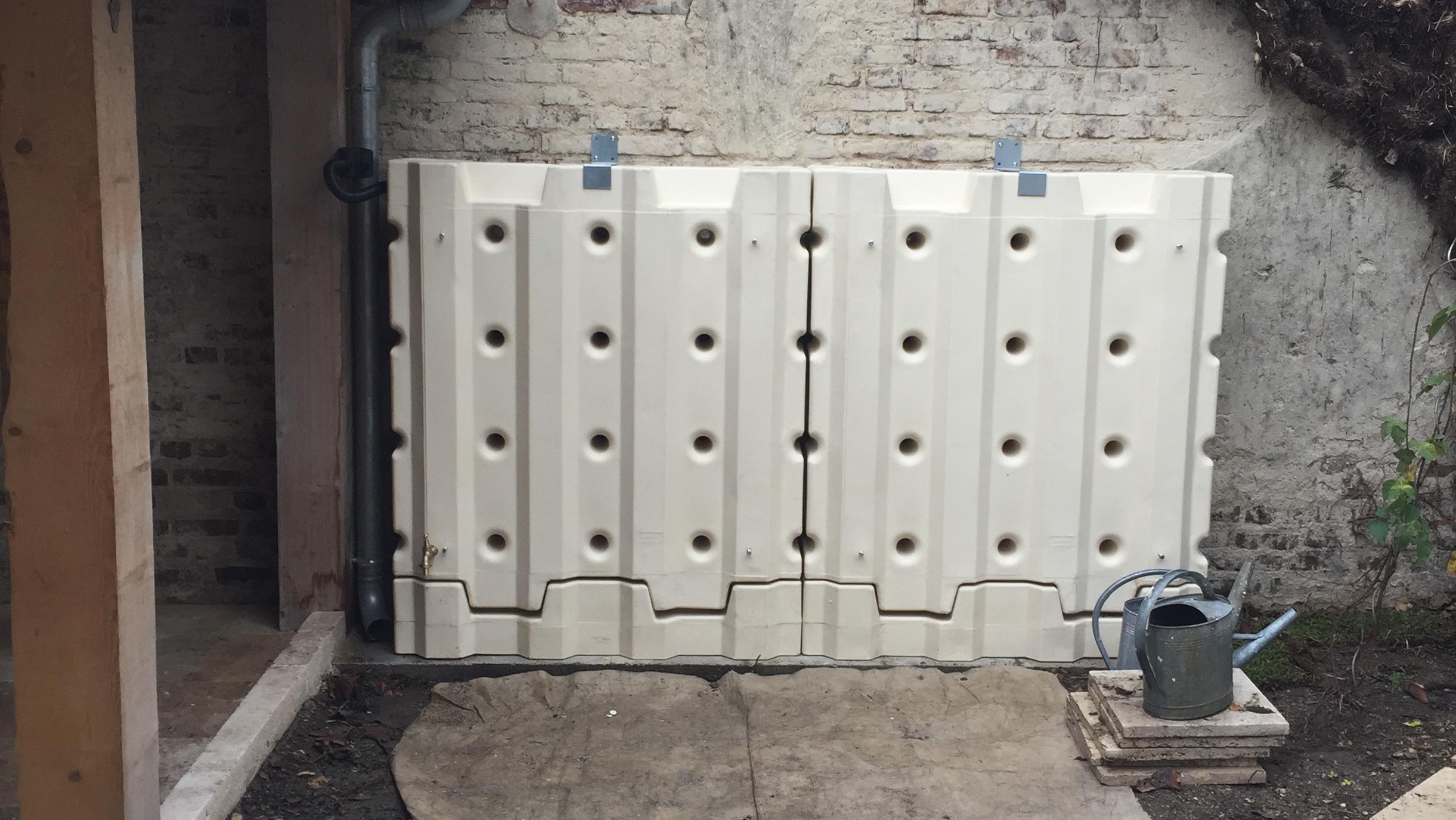 MURDEAU réservoir modulable pour la récupération d'eau de pluie