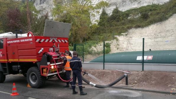 Citerne souple réserve incendie Labaronne CITAF