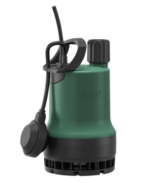 Pompe serpillière Wilo TMR aspire jusqu'à 2 mm du sol