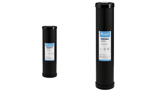 Filtres Ferromix en 10″ /20″ BIG pour traiter le fer dans l'eau.