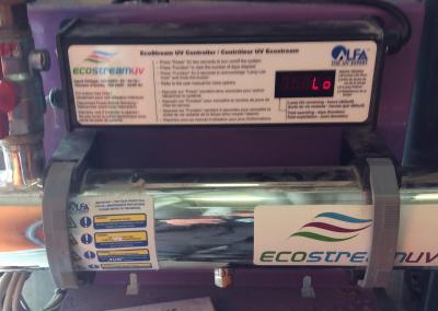 Chambre de traitement UV, d'un Skid Ecostream installés par ESA-Evolutions.