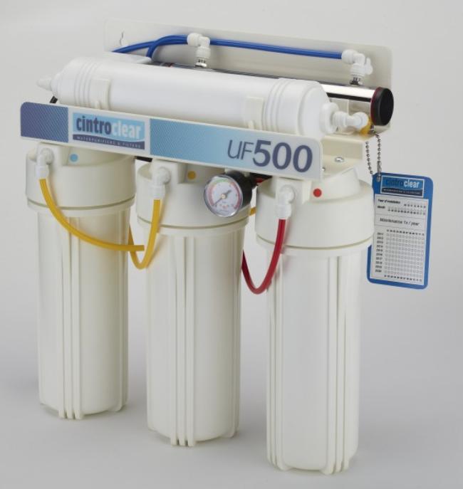 Les cintroclear UF 400 et UF 500 utilisent l'ultrafiltration pour traiter les eau